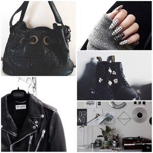 Christian Dior Calf Skin leather bag